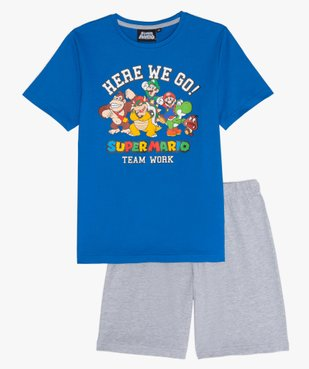 Pyjashort garçon avec motif XXL – Super Mario vue1 - MARIO - GEMO