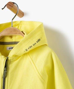 Sweat bébé garçon à capuche et fermeture zippée vue2 - Nikesneakers C4G BEBE - Nikesneakers