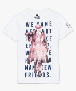 Tee-shirt homme avec motif XXL – Peaky Blinders vue4 - PEAKY BLINDERS - GEMO