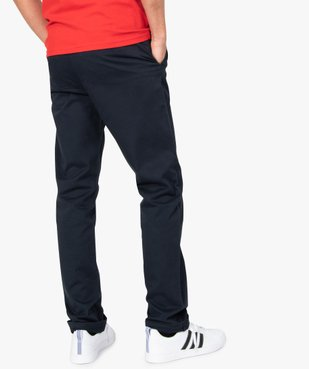 Pantalon chino homme coupe regular vue3 - GEMO (HOMME) - GEMO