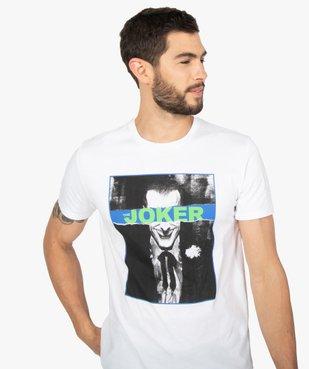 Tee-shirt homme à manches courtes imprimé - Joker vue2 - JOKER - GEMO