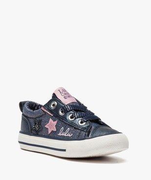 Baskets fille avec paillettes et étoiles - LuluCastagnette vue2 - LULU CASTAGNETT - Nikesneakers