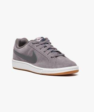 Baskets basses Nike Court Royale Suede vue2 - NIKE - GEMO