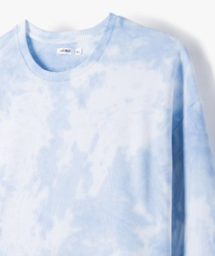 Sweat fille bicolore effet tie and dye coupe courte vue2 - Nikesneakers (JUNIOR) - Nikesneakers