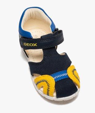 Sandales bébé garçon multicolores doublées cuir - Geox vue5 - GEOX - GEMO