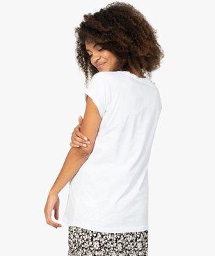 Tee-shirt de grossesse loose à manches courtes - Disney Les 101 Dalmatiens vue3 - DISNEY DTR - GEMO