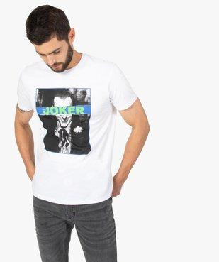 Tee-shirt homme à manches courtes imprimé - Joker vue1 - JOKER - GEMO