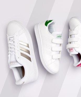 Baskets femme détails métallisés – Adidas Grand Court Base vue6 - ADIDAS - Nikesneakers