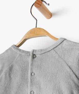 Pyjama bébé filles 2 pièces avec motif ourson vue3 - GEMO(BB COUCHE) - GEMO