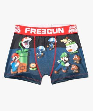 Boxer garçon avec motifs Super Mario - Freegun vue1 - FREEGUN - GEMO