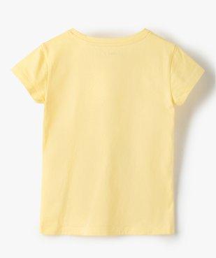 Tee-shirt fille à manches courtes avec motifs pailletés vue3 - Nikesneakers C4G FILLE - Nikesneakers
