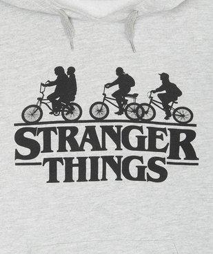 Sweat garçon à capuche avec motif – Stranger Things vue2 - STRANGER THINGS - GEMO