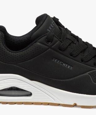 Tennis femme unies à lacets et semelle bulle d'air – Skechers vue6 - SKECHERS - GEMO