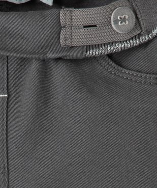 Jegging bébé fille à taille réglable et ceinture pailletée vue3 - GEMO(BEBE DEBT) - GEMO