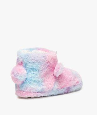 Chaussons fille boots en forme de licorne vue4 - GEMO (ENFANT) - GEMO