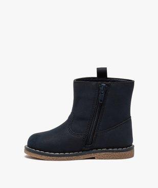 Boots bébé fille zippés à détails pailletés – Lulu Castagnette vue3 - LULU CASTAGNETT - GEMO
