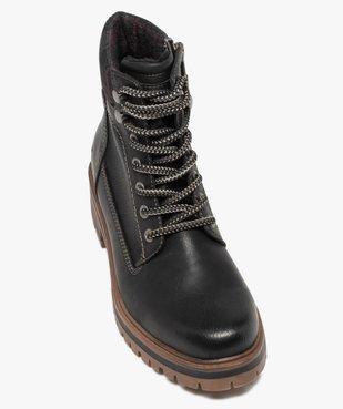 Boots femme à semelle crantée – Tom Tailor vue5 - TOM TAILOR - GEMO