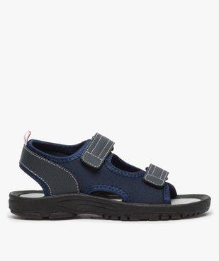 Sandales garçon à semelle crantée et fermeture scratch vue1 - Nikesneakers (ENFANT) - Nikesneakers