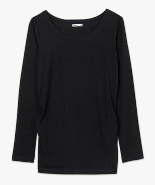 Tee-shirt de grossesse à manches longues vue4 - GEMO C4G MATERN - GEMO