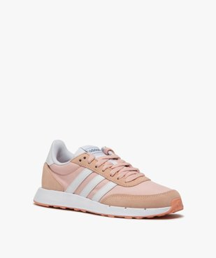 Baskets femme bicolores à lacets – Adidas Run 60s vue2 - ADIDAS - Nikesneakers