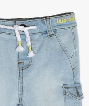 Bermuda bébé garçon en jean - Lulu Castagnette vue2 - LULUCASTAGNETTE - GEMO