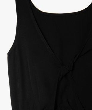 Robe fille avec découpe dans le dos vue3 - GEMO (JUNIOR) - GEMO