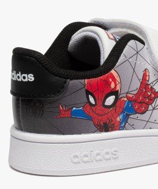 Baskets garçon à scratch – Adidas Advantage Spiderman vue6 - ADIDAS - GEMO