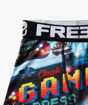 Boxer garçon à motifs jeu vidéo - Freegun vue2 - FREEGUN - GEMO