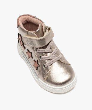 Baskets bébé fille semi-montantes – Lulu Castagnette vue5 - GEMO(BEBE DEBT) - GEMO