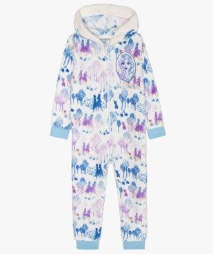 Pyjama fille combinaison polaire - Frozen 2 vue1 - REINE DES NEIGE - GEMO