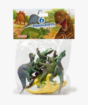 Lot de figurines dinosaures de différentes tailles– Kim'Play vue1 - KIM PLAY - GEMO