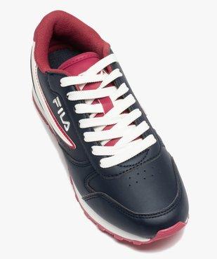 Baskets femme colorées à lacets – Fila Orbit Low vue5 - FILA - Nikesneakers