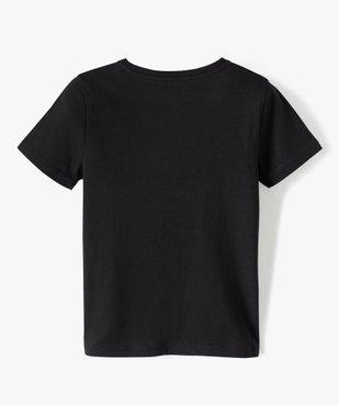 Tee-shirt garçon uni à manches courtes vue3 - Nikesneakers C4G GARCON - Nikesneakers