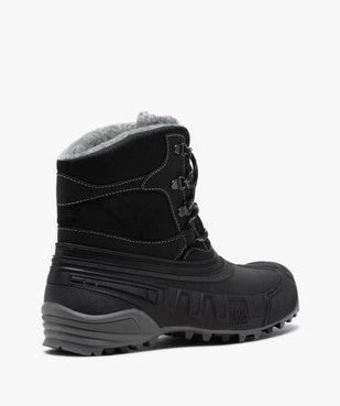 Après-skis homme style chaussures de montagne à lacets vue4 - GEMO (EQUIPT) - GEMO