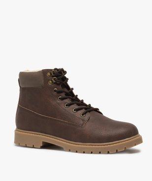 Boots homme à doublure chaude - Les Supaires vue2 - GEMO (CASUAL) - GEMO