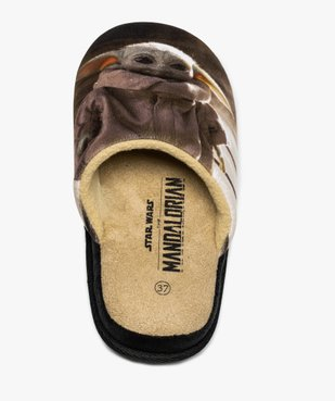 Chaussons garçon mules imprimées – Star Wars Mandalorian vue6 - STAR WARS - Nikesneakers