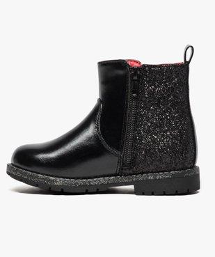 Boots pailletées avec motif Minnie - Disney vue3 - MINNIE - GEMO
