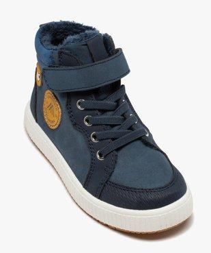 Boots garçon unies à col rembourré et doublure douce vue5 - Nikesneakers (ENFANT) - Nikesneakers
