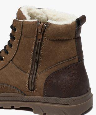 Boots garçon zippées à bout renforcé et col rembourré vue6 - Nikesneakers (ENFANT) - Nikesneakers