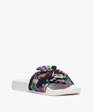 Mules de piscine femme dessus tissu – Shoes by LTDC vue2 - SHOES BY LTDC - GEMO