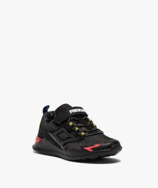 Baskets garçon dessus mesh et détails colorés - Freegun vue2 - FREEGUN - GEMO