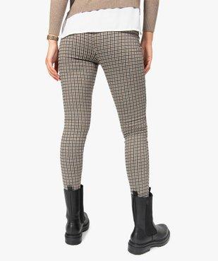 Leggings femme à motifs pied de coq vue3 - Nikesneakers(FEMME PAP) - Nikesneakers