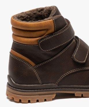Boots garçon à scratch avec doublure et col rembourrés vue6 - Nikesneakers (ENFANT) - Nikesneakers