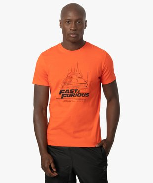 Tee-shirt homme à manches courtes – Fast and Furious vue1 - NBCUNIVERSAL DT - GEMO