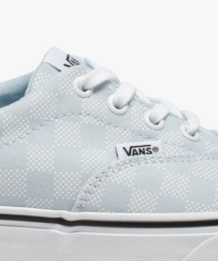 Tennis femme skateshoes en toile imprimée - Vans Doheny vue6 - VANS - GEMO