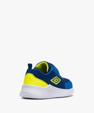 Chaussures de running garçon à scratch - Umbro vue4 - UMBRO - GEMO