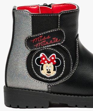 Bottine montante à semelle crantée - Minnie Mouse vue6 - MINNIE - GEMO