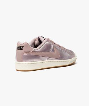 Baskets basses satinées - Nike Court Royale SE vue4 - NIKE - GEMO