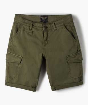 Bermuda garçon multi-poches – American People vue1 - AMERICAN PEOPLE - GEMO