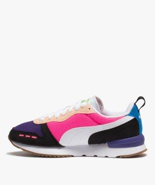 Baskets femme multicolores – Puma R78 vue3 - PUMA - Nikesneakers